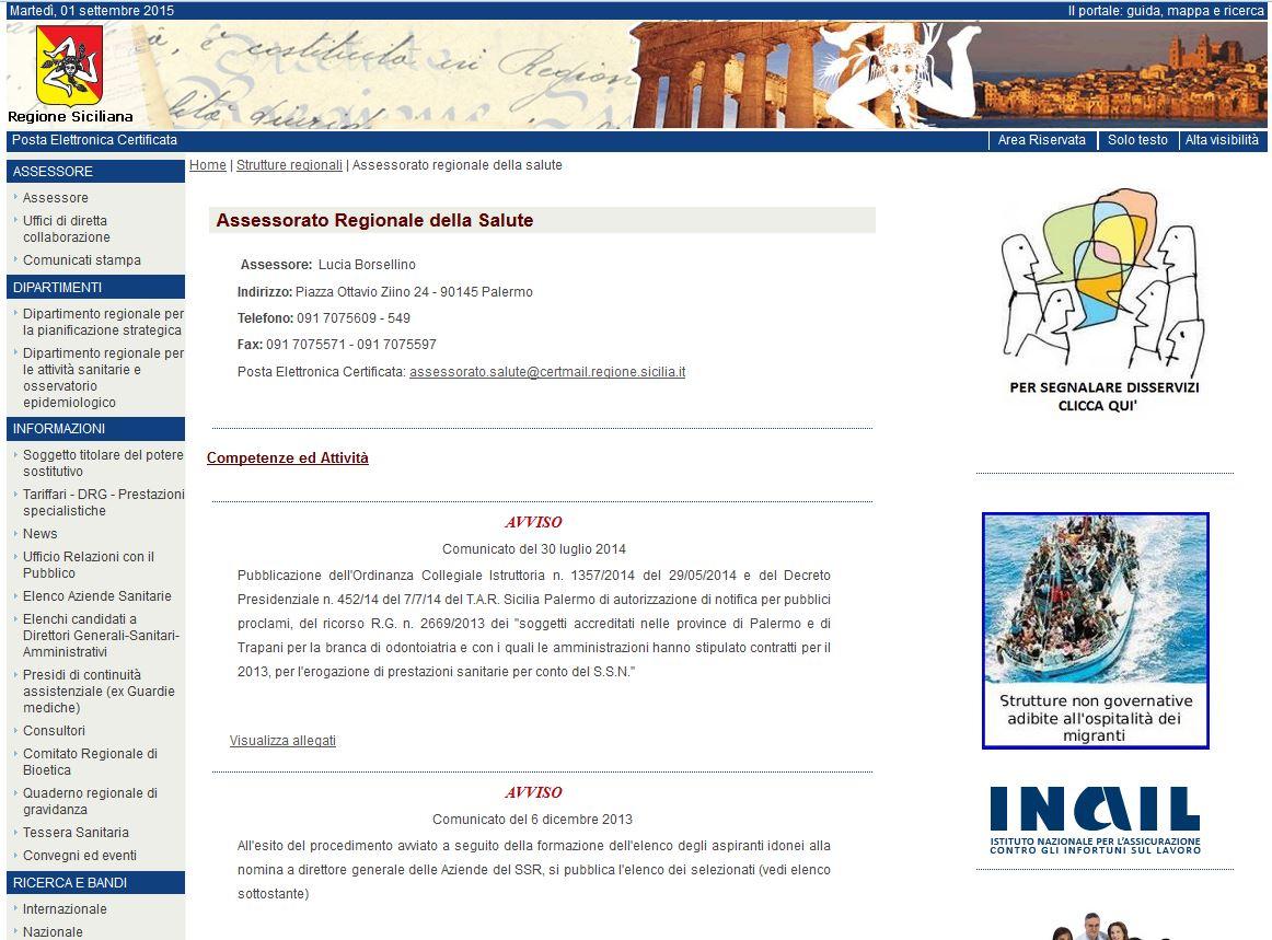 Elenco siti tematici a o cannizzaro for Pti regione sicilia